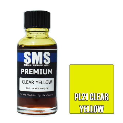 Premium CLEAR YELLOW 30ml