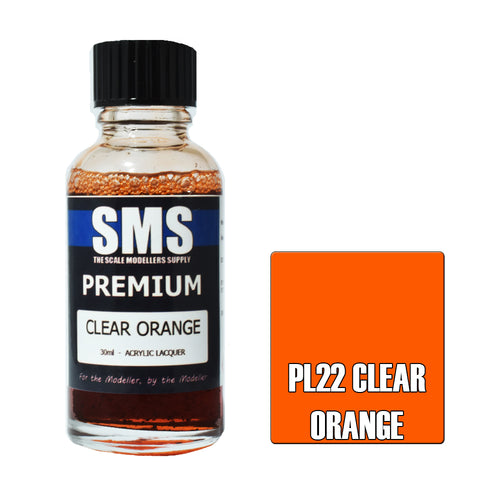 Premium CLEAR ORANGE 30ml