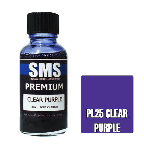 Premium CLEAR PURPLE 30ml