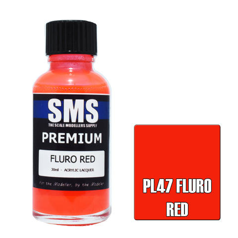 Premium FLURO RED 30ml