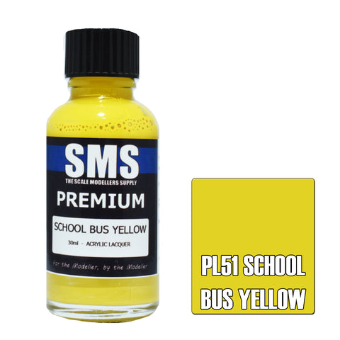 Premium SCHOOL BUS YELLOW 30ml
