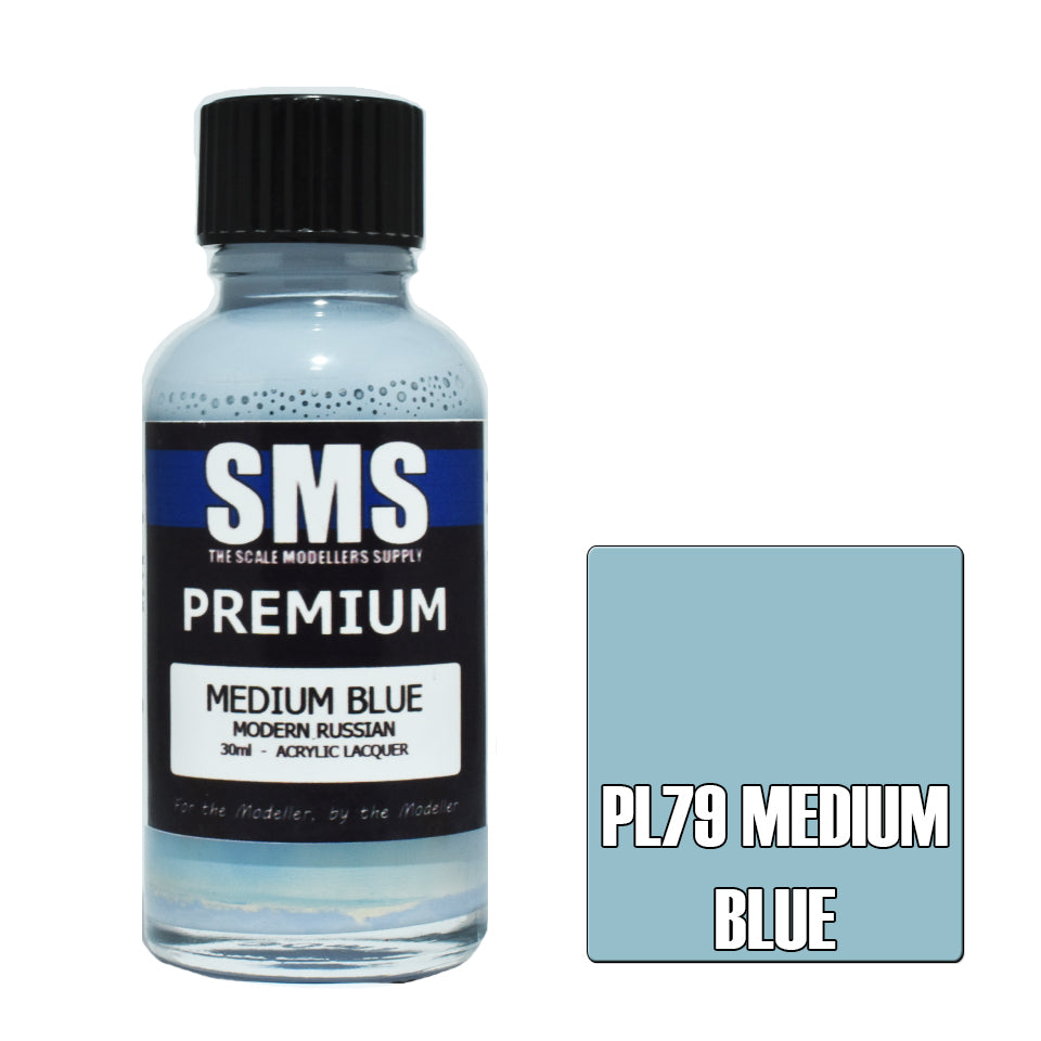 Premium MEDIUM BLUE (MODERN RUSSIAN) 30ml