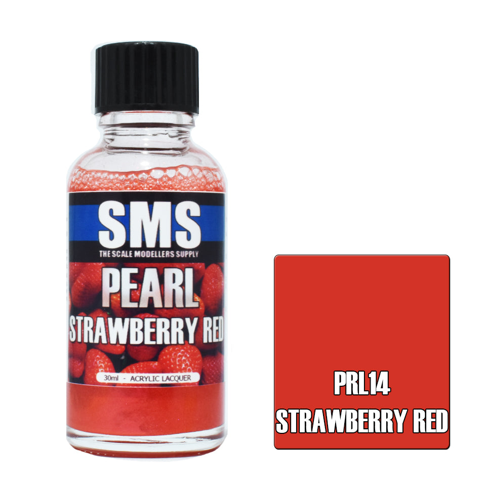 Pearl STRAWBERRY RED 30ml