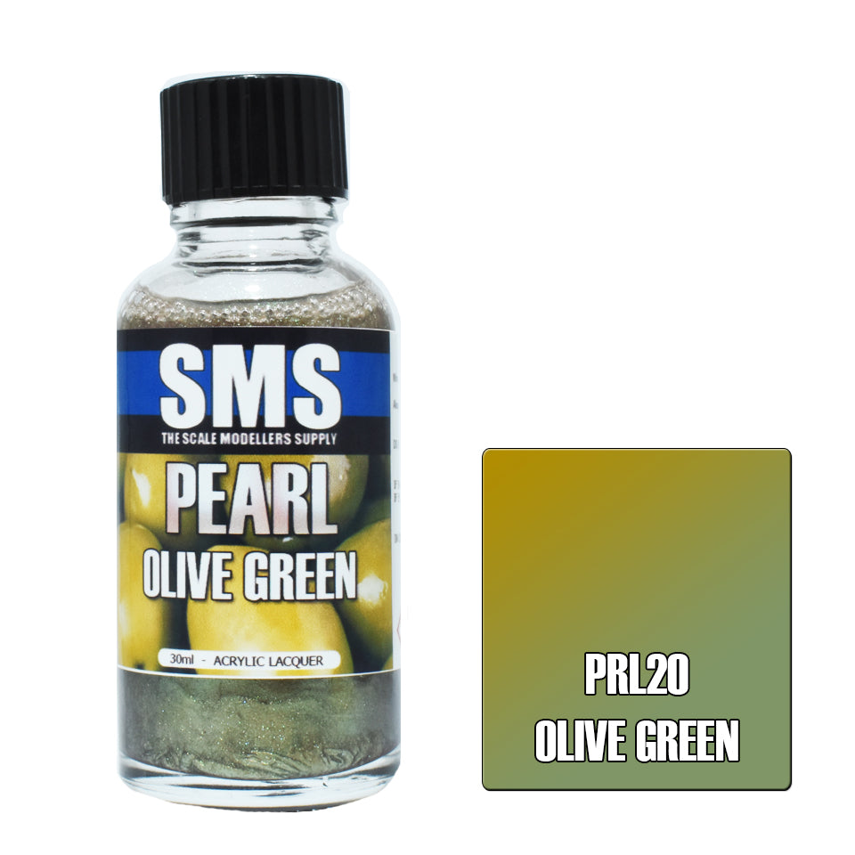 Pearl OLIVE GREEN 30ml
