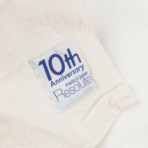 RESOLUTE DENIM 712 anniversary white