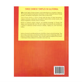 "Back book cover ""Three Chinese Temples in California"""