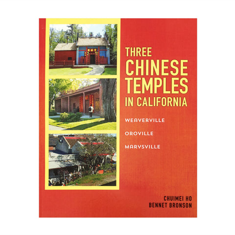 "Front book cover ""Three Chinese Temples in California"""