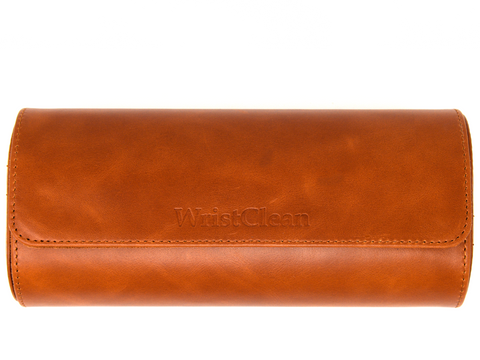 Genuine Leather Watch Roll - 3 Size