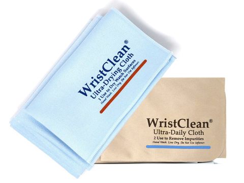 Watch Cloth Combo Pack - Brown/Blue
