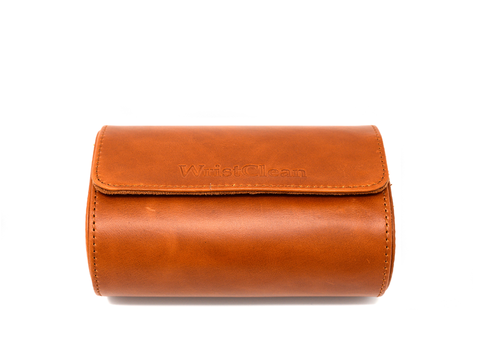Genuine Leather Watch Roll - 2 Size