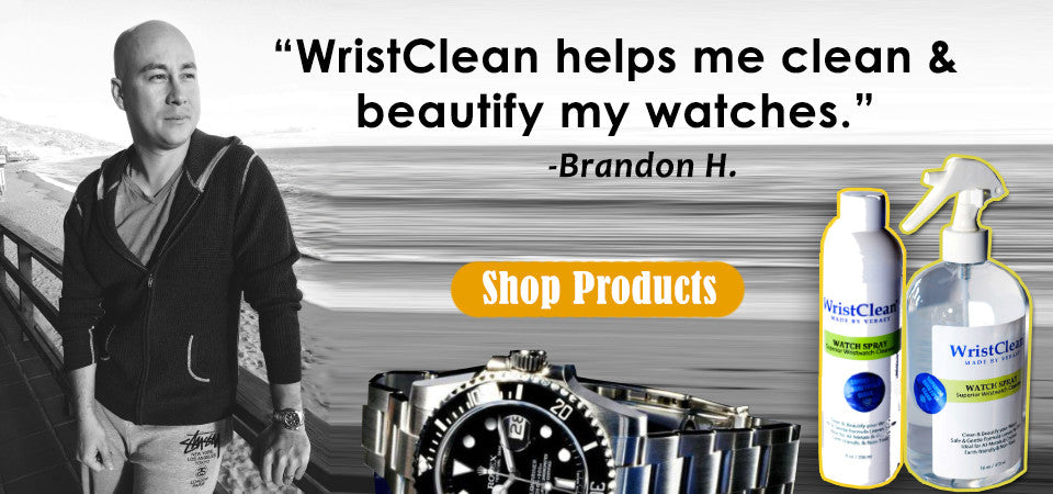 Wristwatch Care, Luxury Watch Cleaner, Watch Care, Cleaning Watches