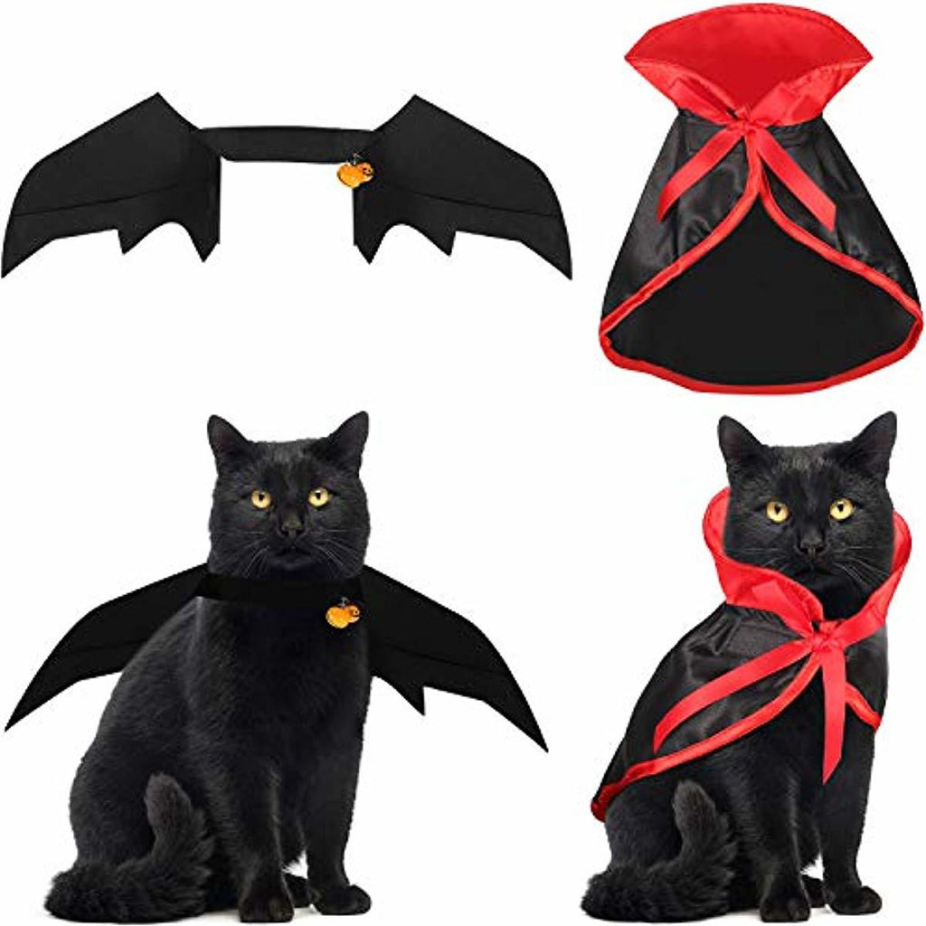 4 Pieces Halloween Cape Bat Costume