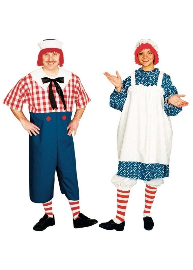 Raggedy Andy and Raggedy Ann Couples Costumes