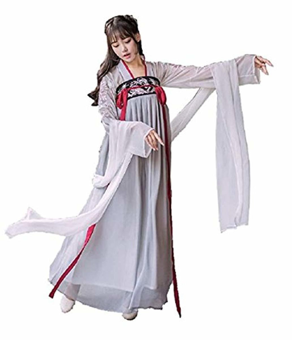 Hanfu Halloween Cosplay Embroidered Chinese Costume