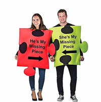 Tigerdoe Puzzle Piece Halloween Costume