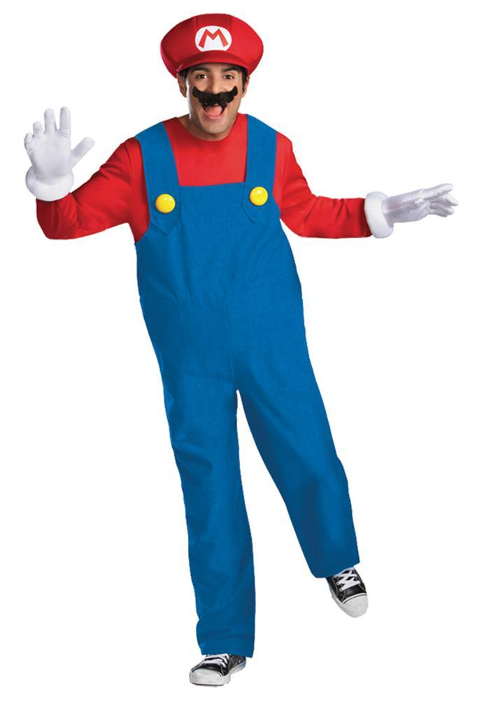Mario Deluxe Adult Halloween Costume