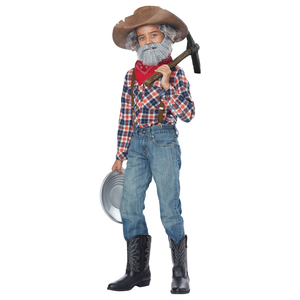 Halloween Child Miner Kit Costume