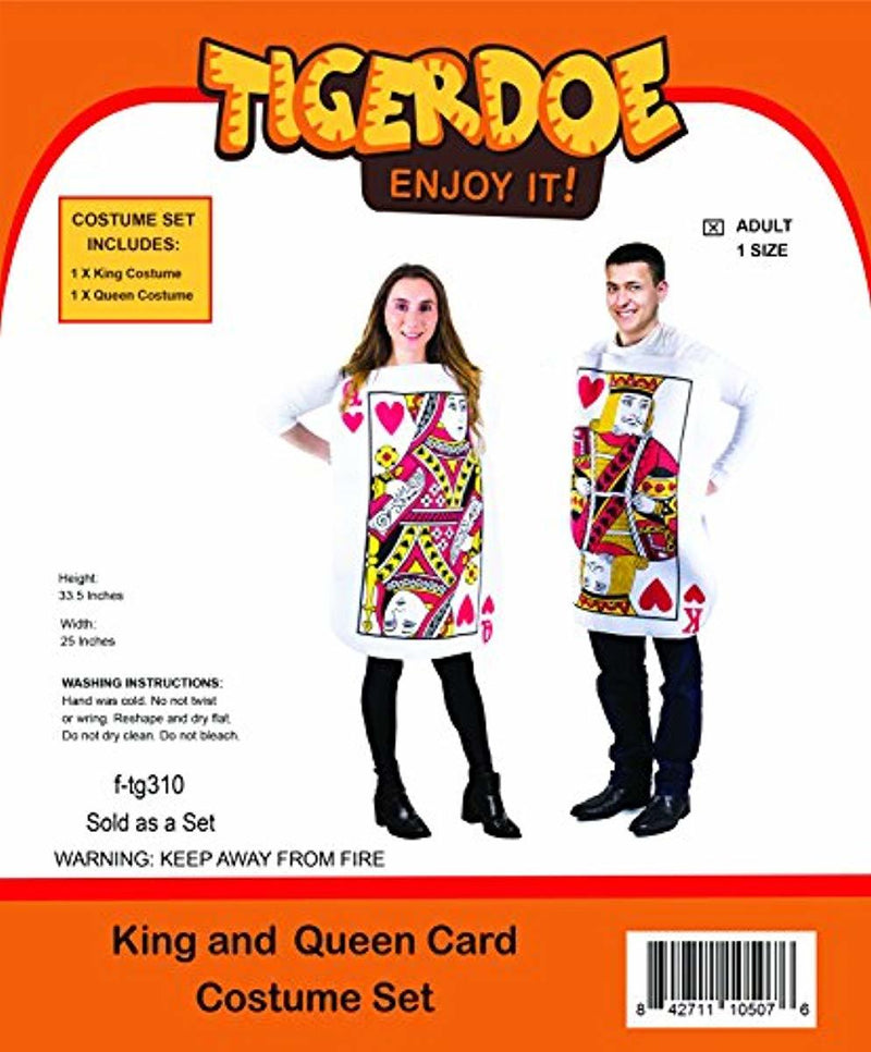 King and Queen Card Halloween Costume
