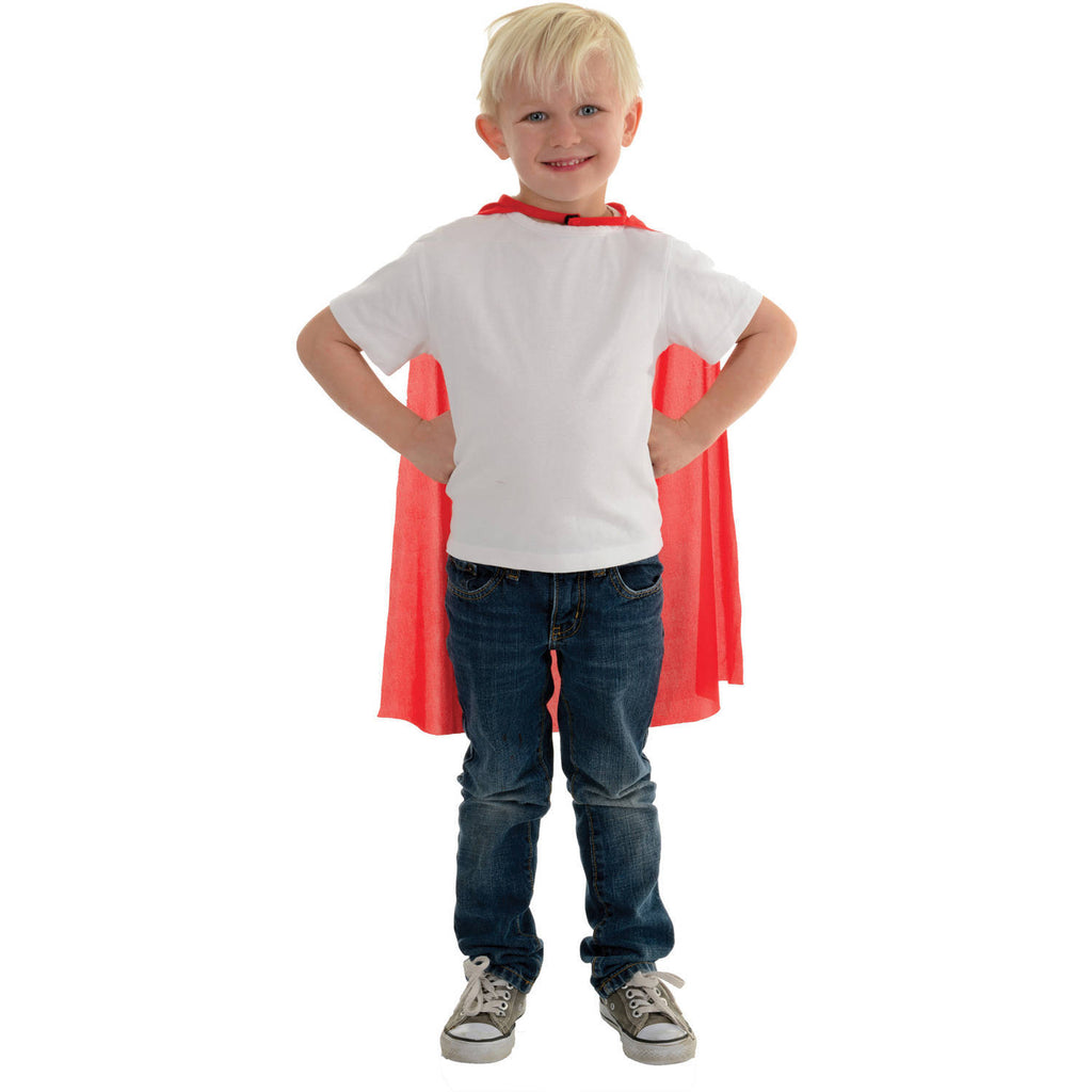 "Red Cape 24"" Long Child Halloween"