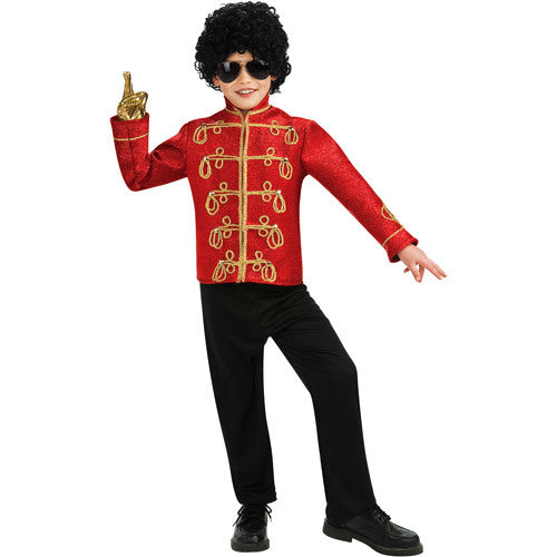 Michael Jackson Red Military Jacket Halloween
