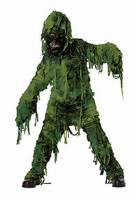 California Swamp Monster Child Costume