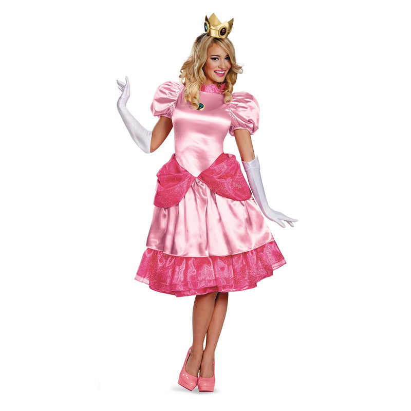 Princess Peach Women's Adult Halloween Costume
