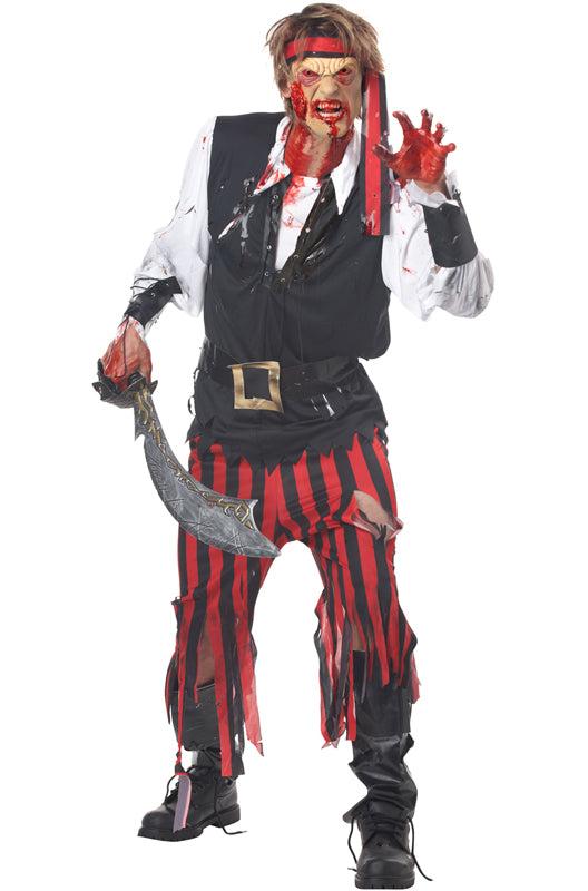 Cutthroat Pirate Men's Halloween Costume