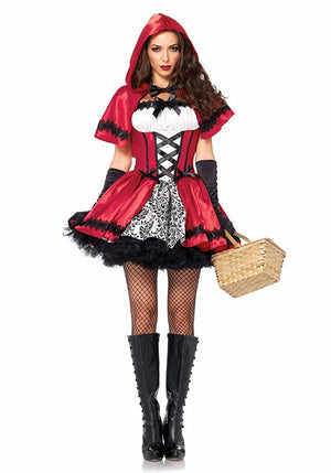 Women's Gothic Red Riding Hood Costume