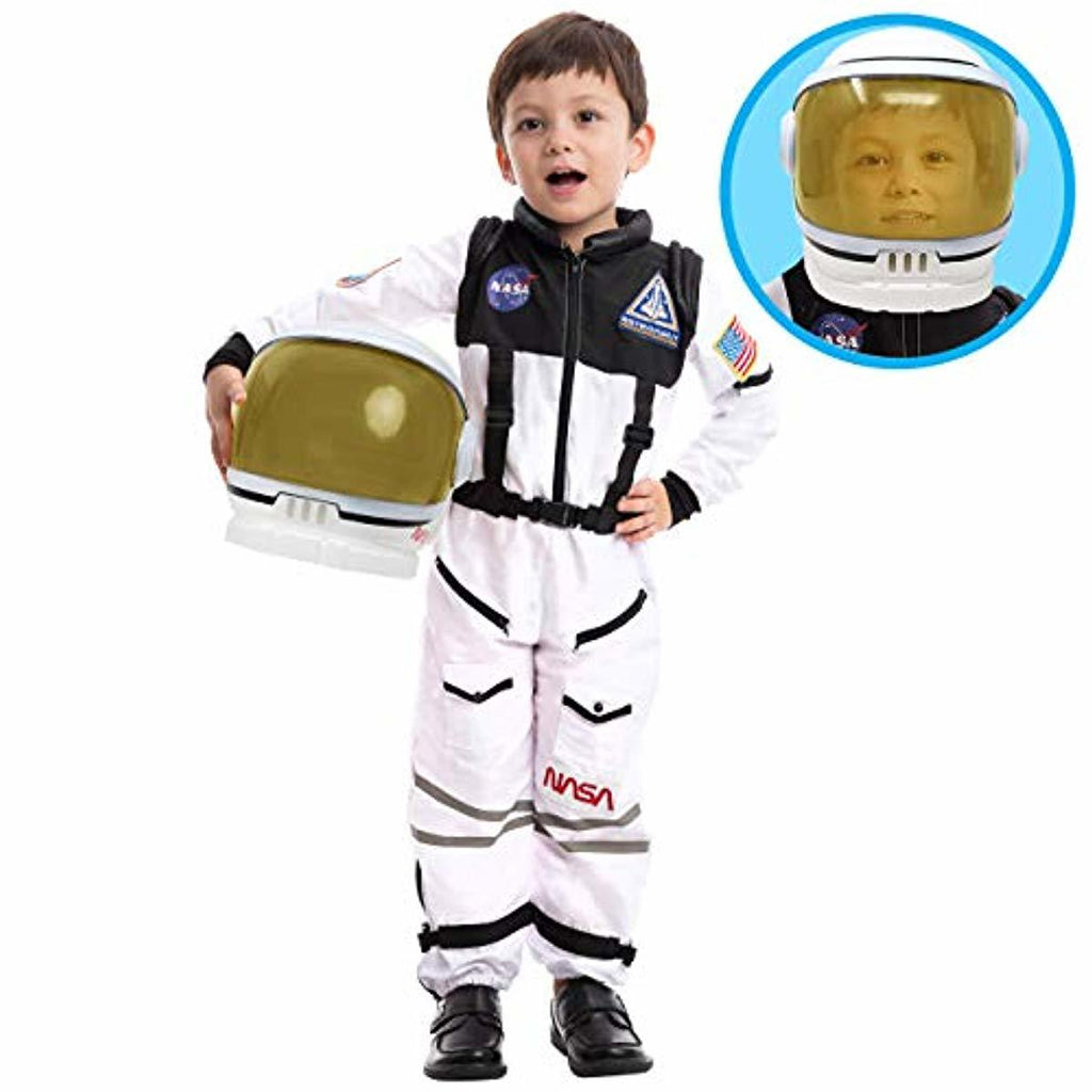Astronaut NASA Pilot Costume with Movable Visor