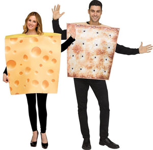 Cheese & Cracker Set Couples Costume