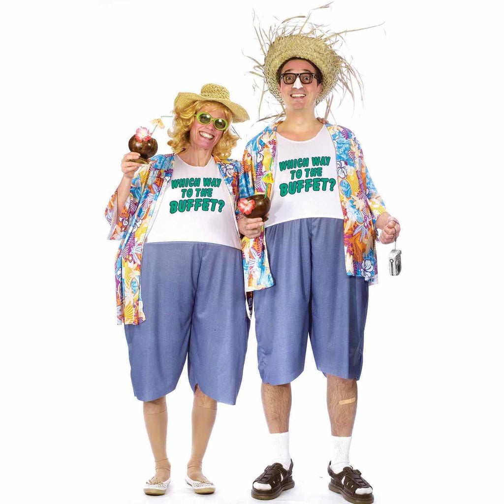 Tacky Traveler Men's Halloween Costume