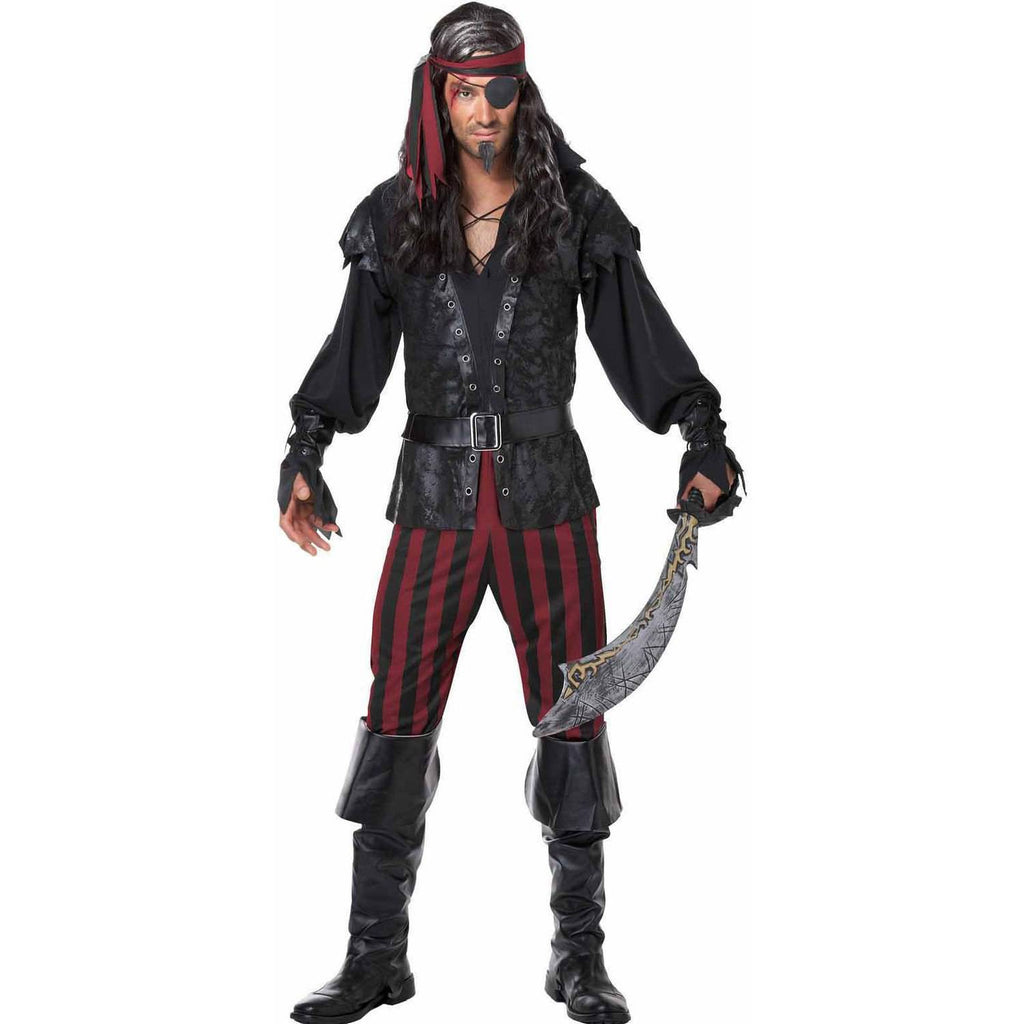 Ruthless Pirate Rogue Men's Halloween Costume