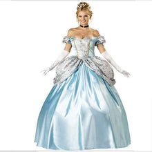 Load image into Gallery viewer, Blue Fairy Tale  Princess Dress