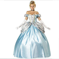 Blue Fairy Tale  Princess Dress