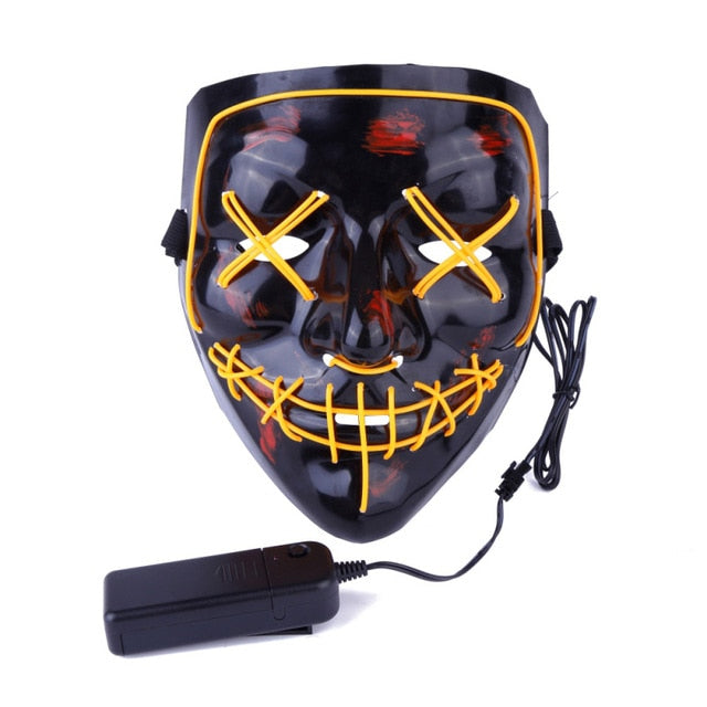 LED Light Up Purge Masks