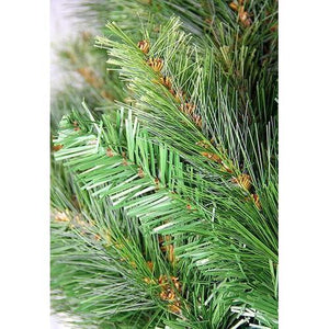 7.5' Pre-Lit Jack Pine Slim Artificial Christmas Tree - Clear Lights