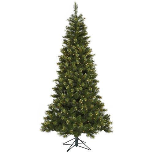 7.5' Pre-Lit Jack Pine Slim Artificial Christmas Tree - Clear LED Lights