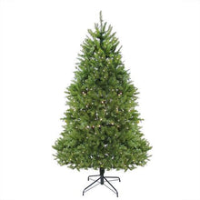 Load image into Gallery viewer, 7.5' Pre-Lit Northern Pine Full Artificial Christmas Tree - Warm Clear LED Lights