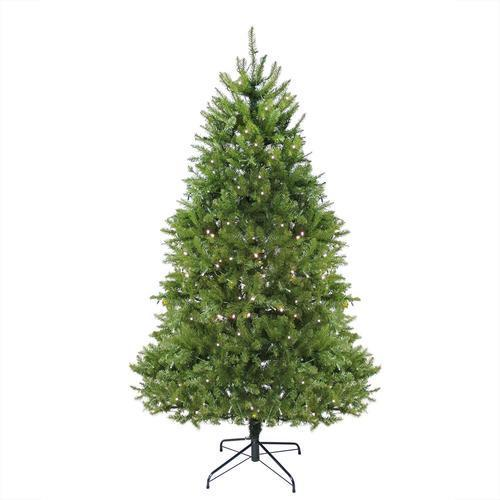 7.5' Pre-Lit Northern Pine Full Artificial Christmas Tree - Warm Clear LED Lights