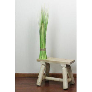 "37.75"" Green and Yellow Artificial Onion Grass Bundle Wrapped with Decorative Tan Rope"