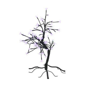 "23"" LED Lighted Japanese Sakura Blossom Flower Tree - Multi-Color Changing Lights"