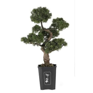 Cedar Bonsai 36 Silk Plant Tree/Silk""