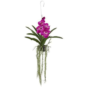 41 Vanda Orchid Hanging Basket Artificial Plant Silk Plants""