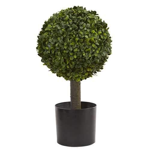 21 Boxwood Ball Topiary Artificial Tree Silk Trees