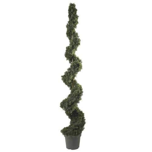 6' Cedar Spiral Silk Tree (In-door/Out-door)
