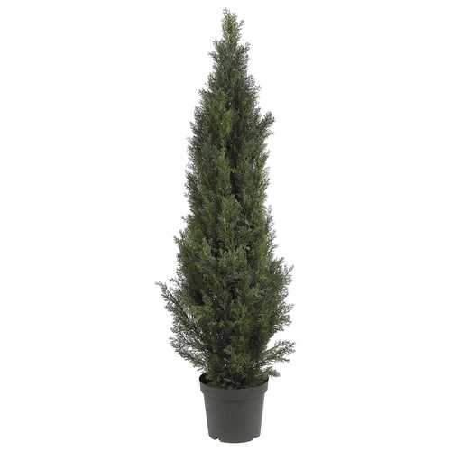 5' Mini Cedar Pine Tree (Indoor/Outdoor) Silk