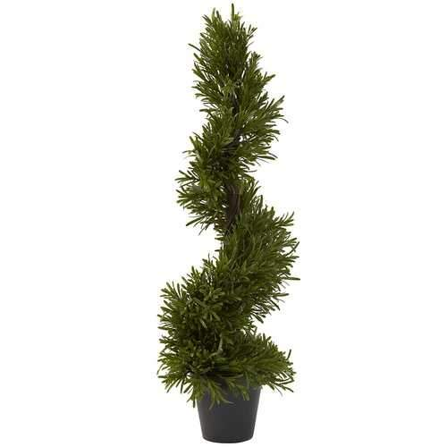 30 Rosemary Spiral Tree (In-Door/Out-Door) Silk