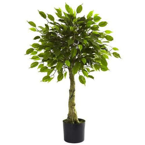 3' Ficus Tree UV Resistant (Indoor/Outdoor) Silk