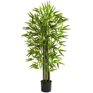 4' Bamboo Tree UV Resistant (Indoor/Outdoor) Silk
