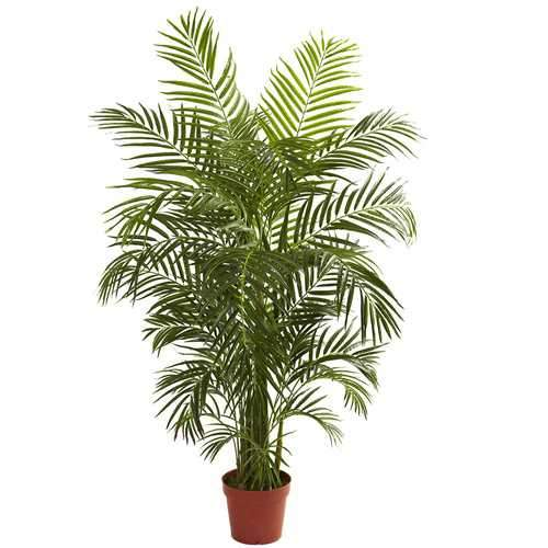 4.5' Areca Palm UV Resistant (Indoor/Outdoor) Silk Tree
